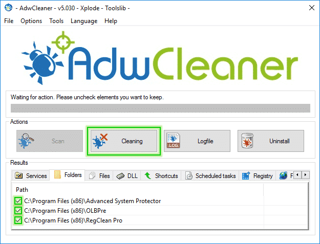 Tutorial AdwCleaner