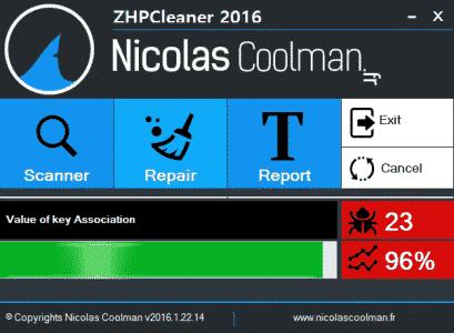 Reparation_process_ZhpCleaner_sos-virus