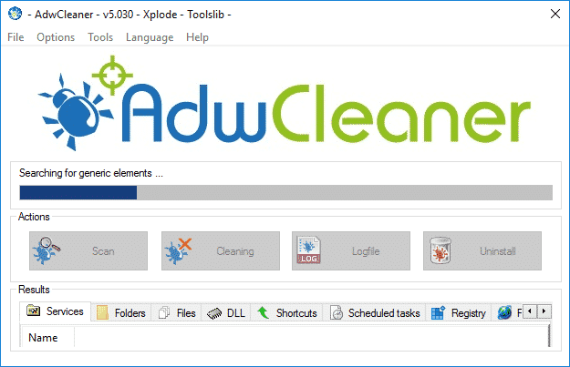 Tutorial Adwcleaner - Scan Option - 2017 - 2018