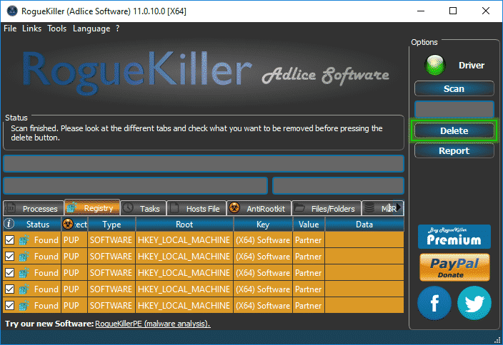 roguekiller pour windows 7