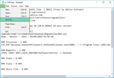 SaveAs_Report_txt_delete_RogueKiller_sos-virus