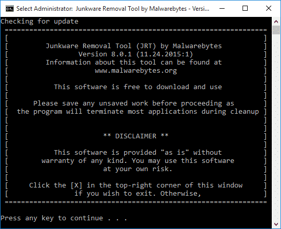 Tutorial_Junkware_Removal_Tool_JRT_Cleaning