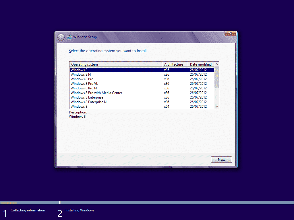 Tutorial_Windows_8_installation_select_operating_system