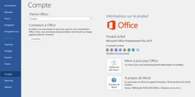 OFFICE 2019 LICENCE ACTIVATION