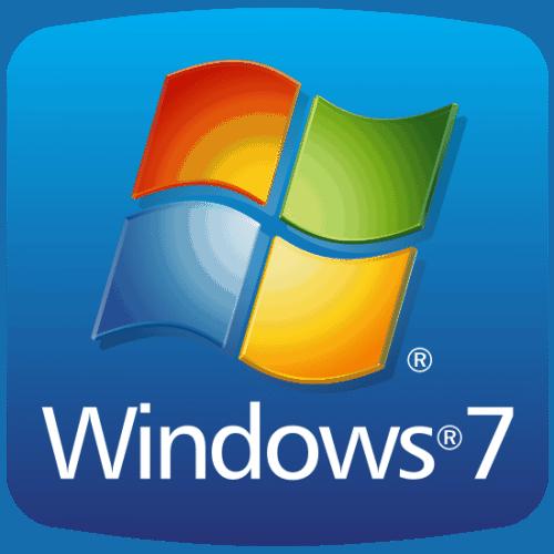 original logo  windows 7 500x500 - Windows 7 Starter 32 Bits
