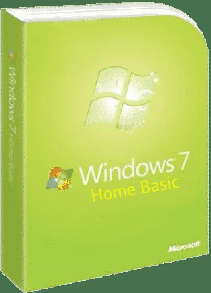 ISO Windows 7 Home Basic