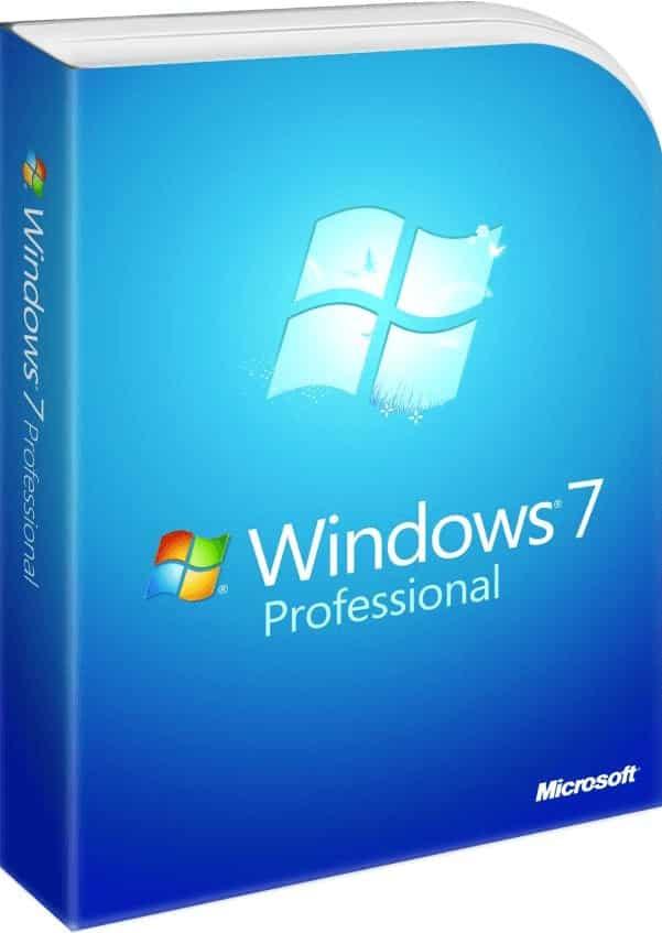 ISO Windows 7 Professional en espanol