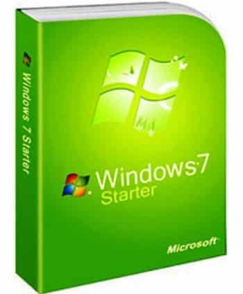 ISO Windows 7 Starter en espanol
