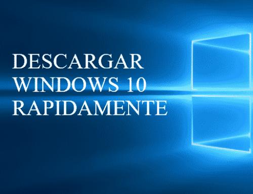 Descargar Windows 10 al formateo Iso