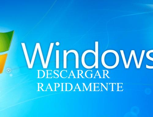 Descargar Windows 7 al formateo iso