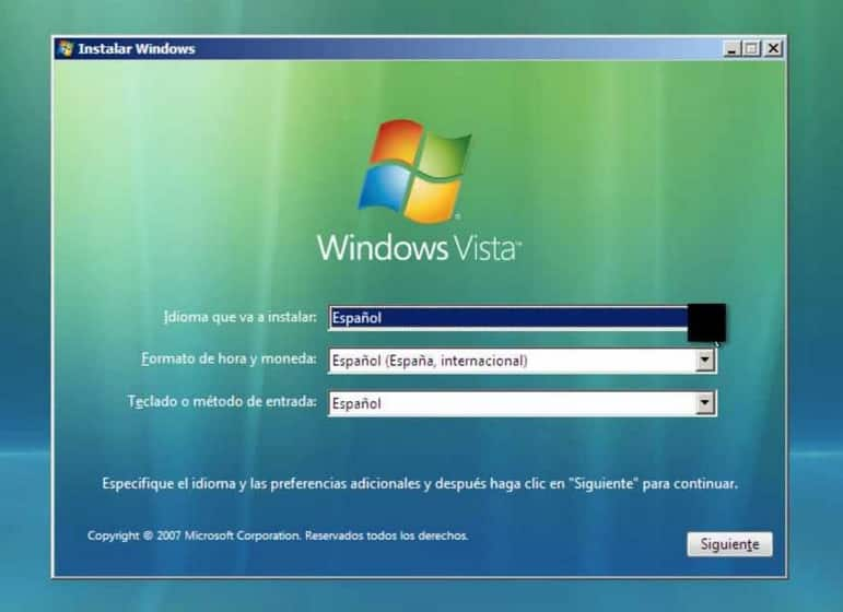 Windows Vista Business ISO 64 Bits en espanol