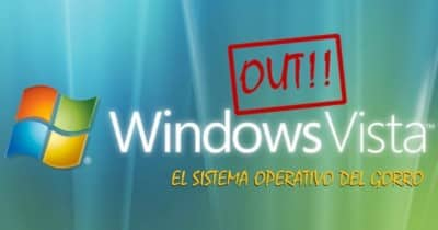 Windows Vista Out: El sistema operativo del gorro dice adios
