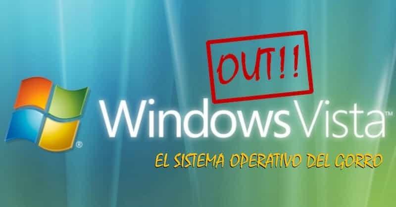 1491994585 windows vista out el sistema operativo del gorro dice adios - Windows Vista Out: El sistema operativo del gorro dice adios