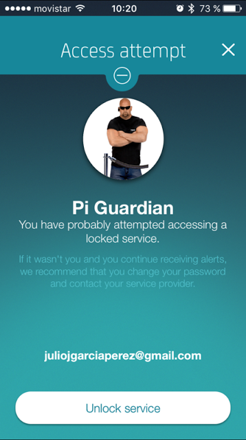 Pi Guardian: Un sistema de seguridad con Latch, Bots de Telegram y una Raspberry Pi con ojos #RaspberryPi #Latch webcam, Telegram, Telefónica, Seguridad Física, Raspberry Pi, Latch, ElevenPaths, bots, Aura