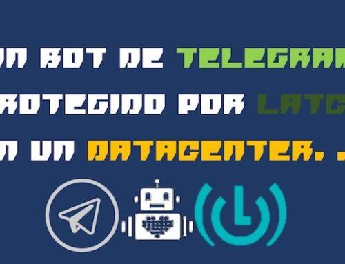 Un bot de Telegram protegido con Latch en un Datacenter