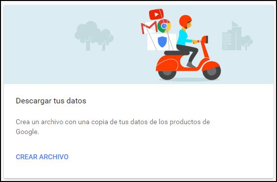 Descargar ts datos de Google