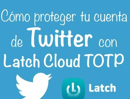 Cómo proteger tu cuenta de Twitter con Latch Cloud TOTP