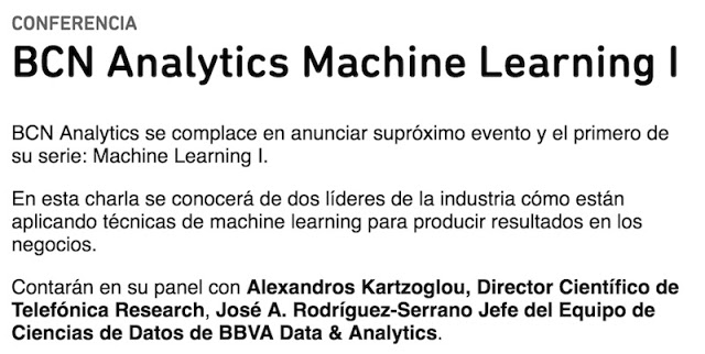 Eventos, conferencias y cursos del 3 al 6 de Mayo: Drupal, Watson, Hacking, Prestashop, BD & Machine Learning Telefónica, PrestaShop, Machine Learning, Hacking, Eventos, ElevenPaths, Drupal, bots, big data, AI, 0xWord