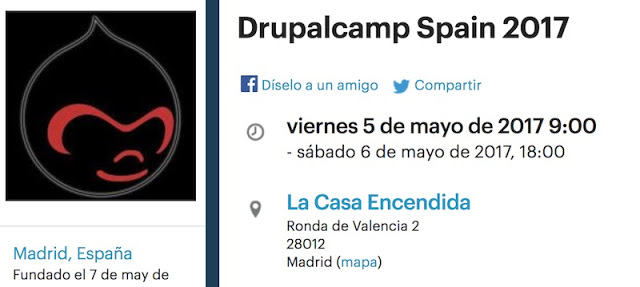 1493512363 377 eventos conferencias y cursos del 3 al 6 de mayo drupal watson hacking prestashop bd machine learning - Eventos, conferencias y cursos del 3 al 6 de Mayo: Drupal, Watson, Hacking, Prestashop, BD & Machine Learning