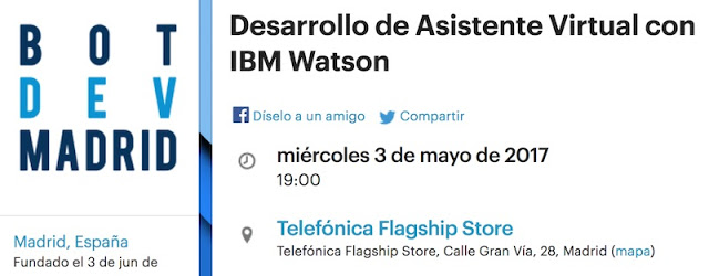 1493512363 564 eventos conferencias y cursos del 3 al 6 de mayo drupal watson hacking prestashop bd machine learning - Eventos, conferencias y cursos del 3 al 6 de Mayo: Drupal, Watson, Hacking, Prestashop, BD & Machine Learning