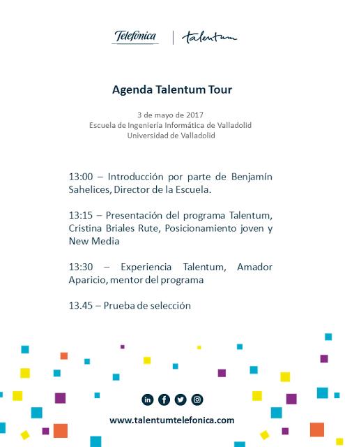 Pruebas de selección para becas de Talentum Starutps en Valladolid Universidad, Telefónica, Talentum, LUCA, ElevenPaths, Aura