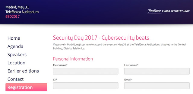 1494293357 820 elevenpaths security day 2017 cybersecurity beats  - ElevenPaths Security Day 2017: CyberSecurity Beats_
