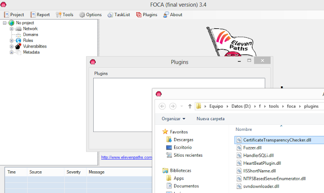1494466794 231 fear the foca descargar foca y el plugin de certificate transparency checker para foca - Fear the FOCA: Descargar FOCA y el plugin de Certificate Transparency Checker para FOCA