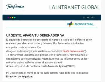 El ataque del ransomware #WannaCry Telefónica, ransomware, Malware, ElevenPaths, cibercrimen, Bitcoins, antimalware