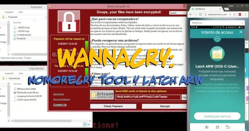 1494900484 wannacry nomorecry tool latch arw - WannaCry: NoMoreCry Tool & Latch ARW