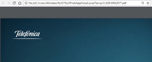 Cómo recuperar ficheros afectados por WannaCry. Telefónica WannaCry File Restorer. Telefónica, ransomware, Malware, ElevenPaths, antiransomware, antimalware