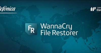 Cómo restaurar ficheros con Telefónica Wannacry File Restorer Alpha 0.1 versión escritorio