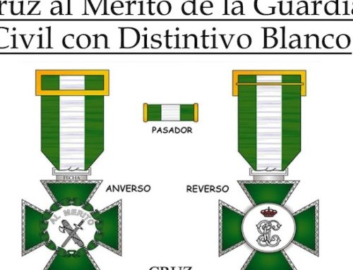 Cruz al Mérito de la Guardia Civil con Distintivo Blanco