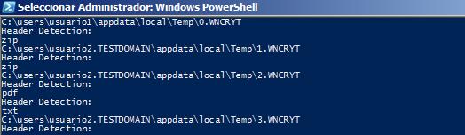 Cómo ejecutar en red Telefónica WannaCry File Restorer usando Active Directory Windows Server 2016, Windows, Telefónica, ransomware, PowerShell, Malware, ElevenPaths, antiransomware, Active Directory