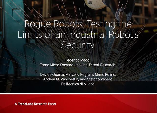 Rogue Robots: Cómo volver maliciosos robots industriales (Parte 1 de 2) - 2017 - 2018