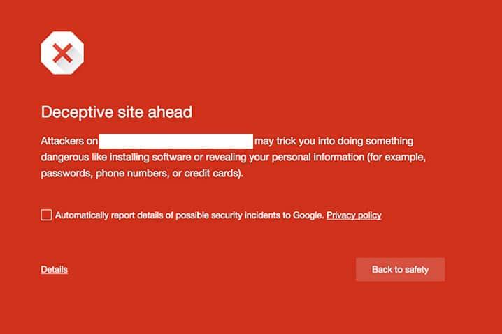 Google está poniendo en lista negra sitios web recientes que no usan HTTPS - 2017 - 2018