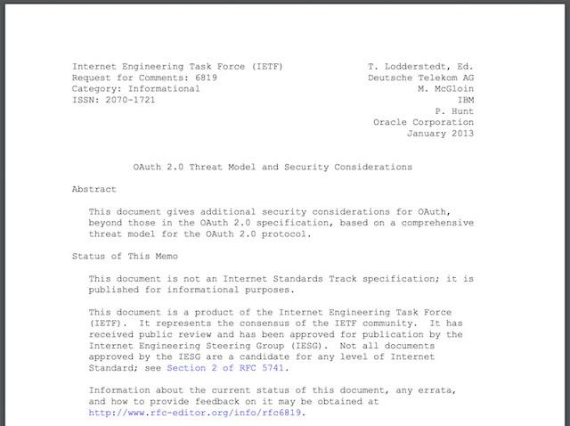 1497219853 27 mitigacion de la suplantacion de identidad en oauth 2 0 parte i de ii - Mitigación de la suplantación de identidad en OAuth 2.0 (Parte I de II)
