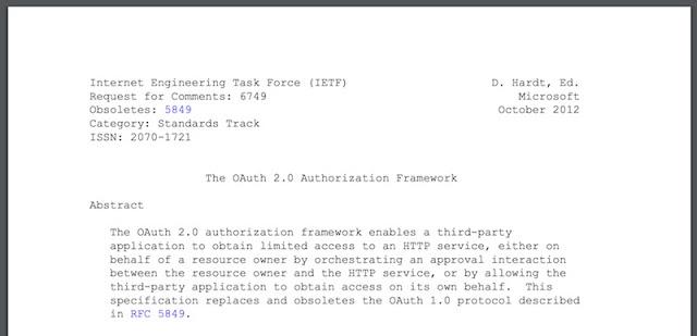 1497219853 640 mitigacion de la suplantacion de identidad en oauth 2 0 parte i de ii - Mitigación de la suplantación de identidad en OAuth 2.0 (Parte I de II)