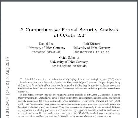 1497219854 743 mitigacion de la suplantacion de identidad en oauth 2 0 parte i de ii - Mitigación de la suplantación de identidad en OAuth 2.0 (Parte I de II)