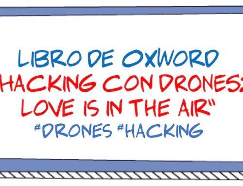 """Libro de @0xWord """"Hacking con DRONES: Love is in the air"""" #drones #hacking"""