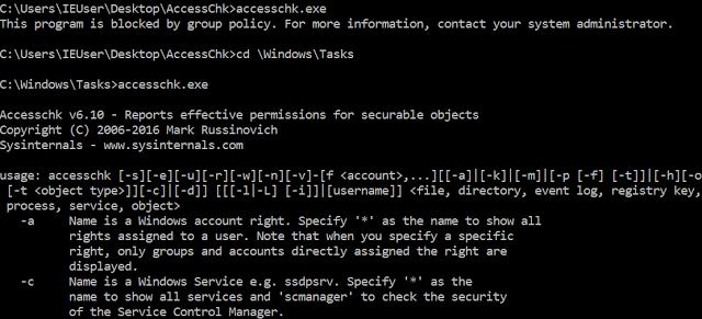 1497935345 55 como saltarse applocker en windows 10 con las reglas por defecto - Cómo saltarse AppLocker en Windows 10 con las reglas por defecto