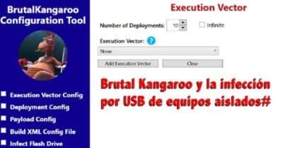 Brutal Kangaroo y la infección por USB de equipos aislados