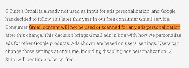 1498390739 127 google en gmail ya no va a leerse mas tus e mails para ponerte los anuncios - Google en Gmail ya no va a leerse más tus e-mails para ponerte los anuncios