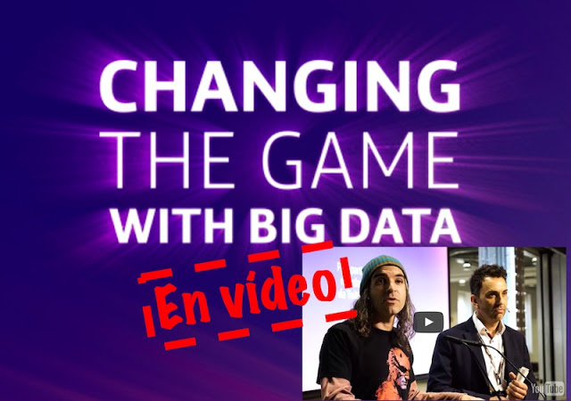 sesiones de changing the game with big data en video - Sesiones de Changing the Game with Big Data en Vídeo