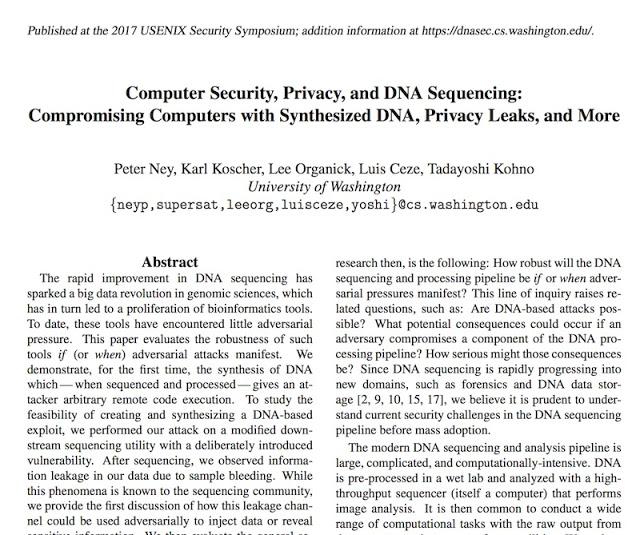 1503873393 473 nucleotidos usados para inyectar malware en muestras de adn jugando a ser root con el adn - Nucleótidos usados para inyectar malware en muestras de ADN. Jugando a ser ROOT con el ADN.