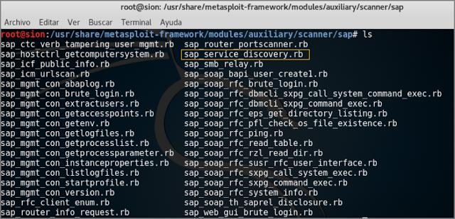 1503938635 688 descubrir la infraestructura interna de sap con metasploit - Descubrir la infraestructura interna de SAP con Metasploit