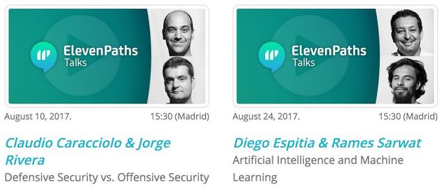 1504099512 474 en agosto elevenpaths talks y cursos online - En Agosto: ElevenPaths Talks y Cursos Online