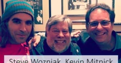 Steve Wozniak, Kevin Mitnick & Chema Alonso cenan en California... y yo me desmayo }:P