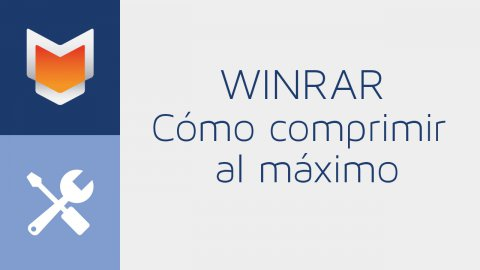 Cómo comprimir al máximo en WinRAR