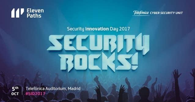 Security Innovation Day 2017: Security Rocks! 5 de Octubre con Mikko Hyppönen en Madrid